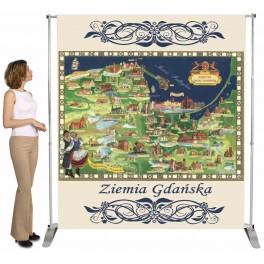 Baner wielkoformatowy z wydrukiem na banerze